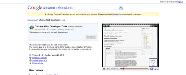 ChromeWebDeveloperTools
