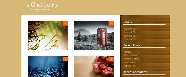 13 Magnificent Free Blogger Gallery based Templates-sgallery