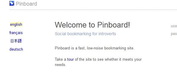 15 Delicious alternative bookmarking sites-pinboard