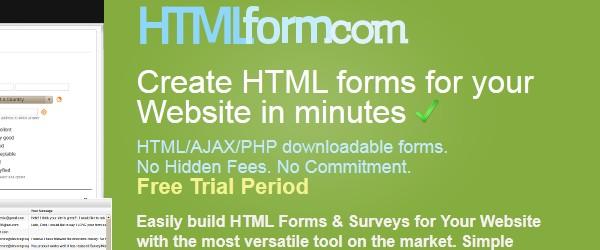 Best Web Development Tools-htmlform