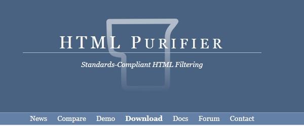 Best Web Development Tools-htmlpurifier