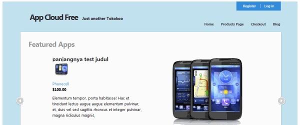 Free WordPress ECommerce Themes-appcloud