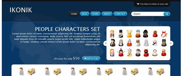 Free WordPress ECommerce Themes-ikonic