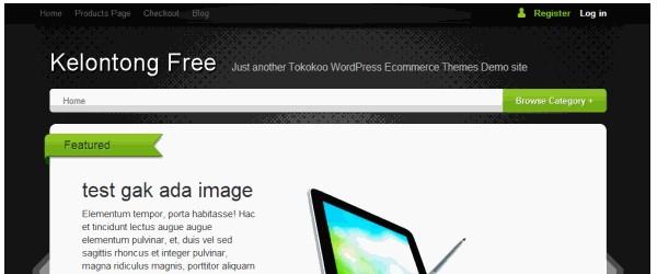 Free WordPress ECommerce Themes-kelontong