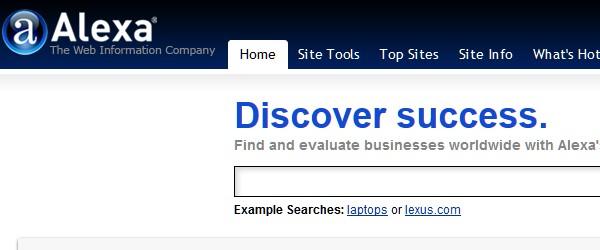 Great Free Live Web Analytics Tools-alexa