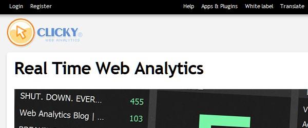 Great Free Live Web Analytics Tools-clicky