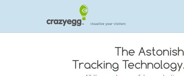 Great Free Live Web Analytics Tools-crazyegg