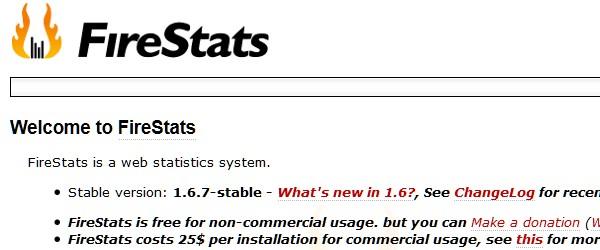 Great Free Live Web Analytics Tools-firestats