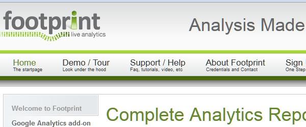 Great Free Live Web Analytics Tools-footprint