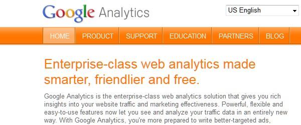Great Free Live Web Analytics Tools-googleanalytics