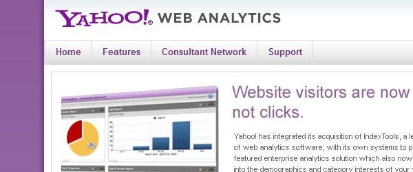 Great Free Live Web Analytics Tools-yahooanalytics
