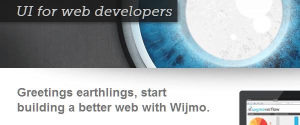 Useful Frameworks for Web and Mobile App Developers-wijmo