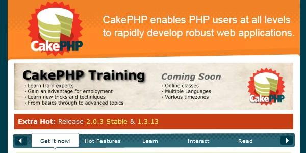 10+Popular PHP Framework-cakephp