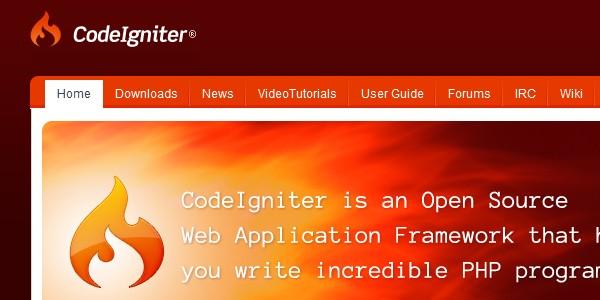 10+Popular PHP Framework-codeigniter