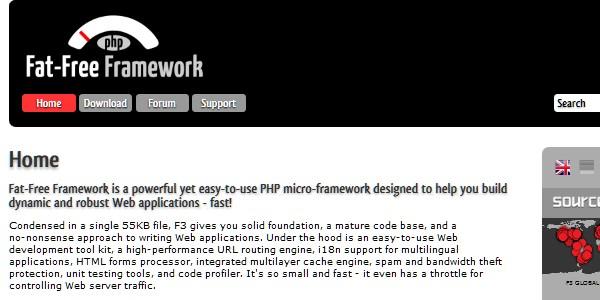 10+Popular PHP Framework-fatfree