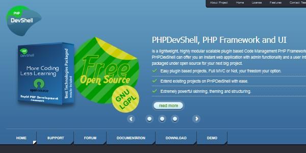 10+Popular PHP Framework-phpdevshell