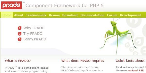 10+Popular PHP Framework-prado