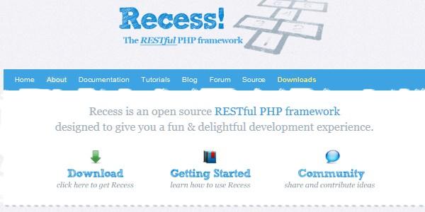 10+Popular PHP Framework-recess