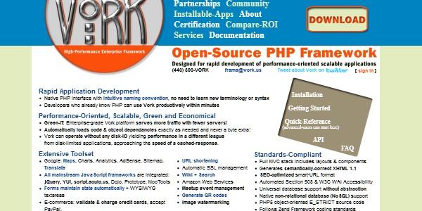 10+Popular PHP Framework-vork