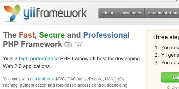 10+Popular PHP Framework-yii