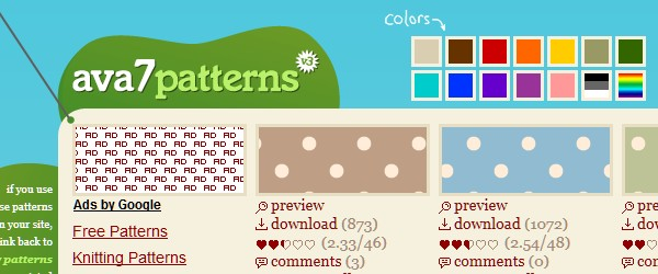 20 Websites to Download Free Photoshop Patterns-ava7