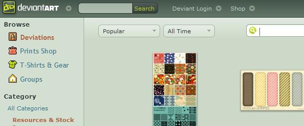 20 Websites to Download Free Photoshop Patterns-deviantart