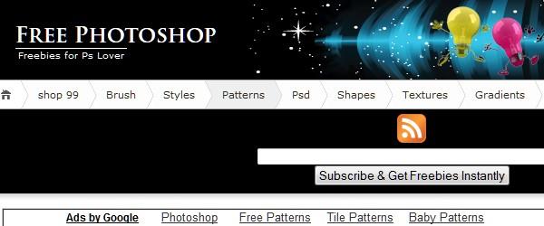20 Websites to Download Free Photoshop Patterns-freephotoshop