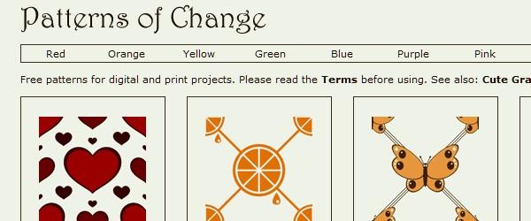 20 Websites to Download Free Photoshop Patterns-patternofchange