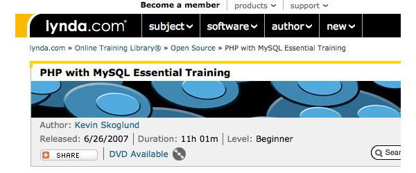 Best--Websites-&-Ebooks-to-learn-PHP-lynda