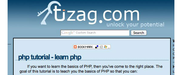 Best--Websites-&-Ebooks-to-learn-PHP-tizag