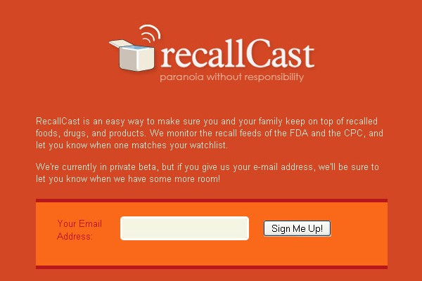 Creative Coming Soon Pages for Inspiration-recallcast