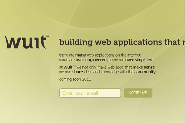 Creative Coming Soon Pages for Inspiration-wuit