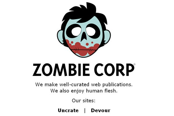 Creative Coming Soon Pages for Inspiration-zombiecorp