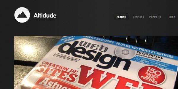 Dark Colored Websites-altidude