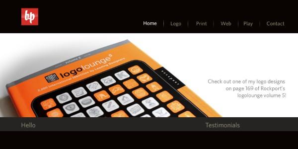 Dark Colored Websites-bpdesign