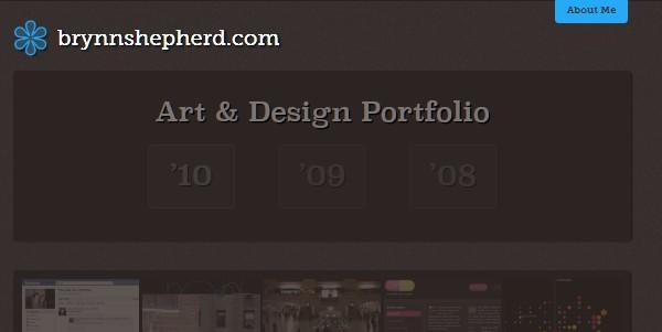 Dark Colored Websites-brynnsheperd