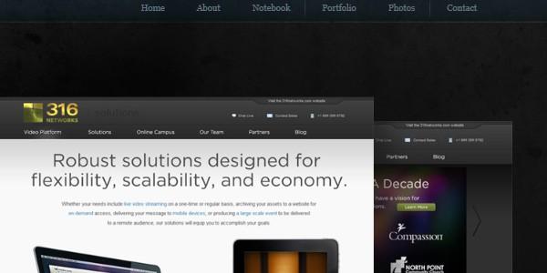 Dark Colored Websites-grantmx