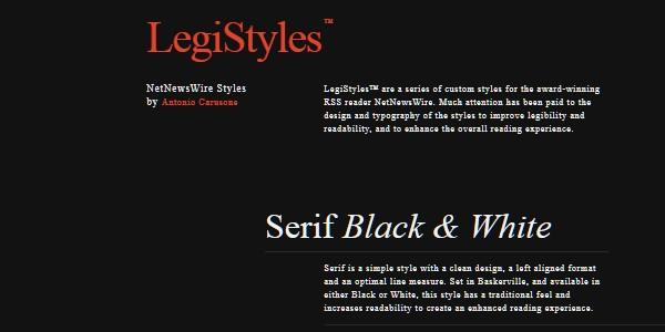 Dark Colored Websites-legistyles