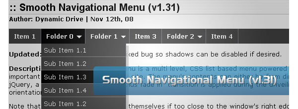 Free-CSS-&-jQuery-drop-down-menus-smoothnavigationalmenus