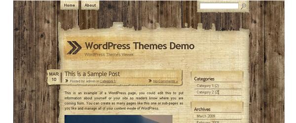 Free Grunge Style WordPress Themes - BestAgencies com