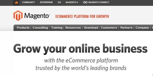 Open Source (Free) eCommerce Platforms-magento