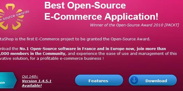 Open Source (Free) eCommerce Platforms-prestashop