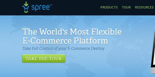 Open Source (Free) eCommerce Platforms-spree