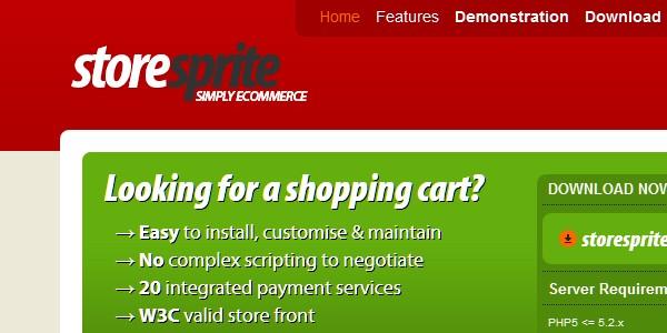 Open Source (Free) eCommerce Platforms-storesprite
