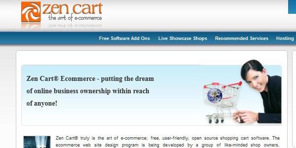 Open Source (Free) eCommerce Platforms-zencart