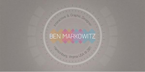 Single Page Websites-benmarkowitz