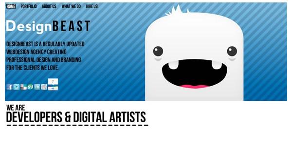 Single Page Websites-designbeast