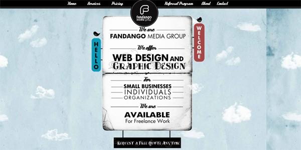 Single Page Websites-fandagomedia