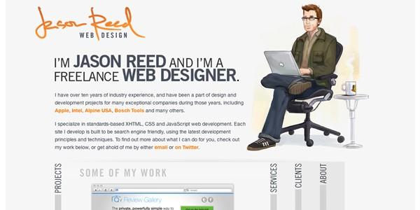 Single Page Websites-jasonreed