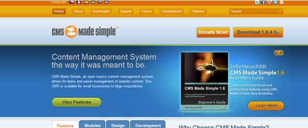 Top 15  Content Management systems (CMS)-cmsmadesimple